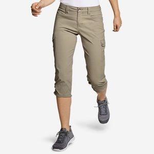 Eddie Bauer 4 Guide Pro Capri Pants Stretch Nylon